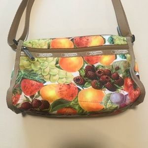 Le Sport Sac Crossbody Bag Fruit Print